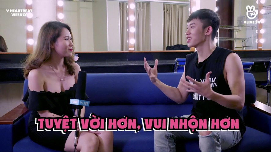 [V HEARTBEAT WEEKLY] EP.18 - Hot singer interview with Kay Trần