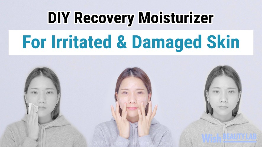 How To Make Acne Spot Recovery Moisturizer By Wishtrend TECA 1% Barrier Cream