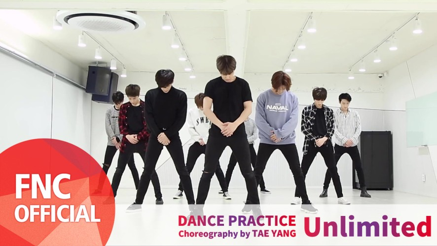 SF9 – Unlimited Dance Practice Video Full ver.