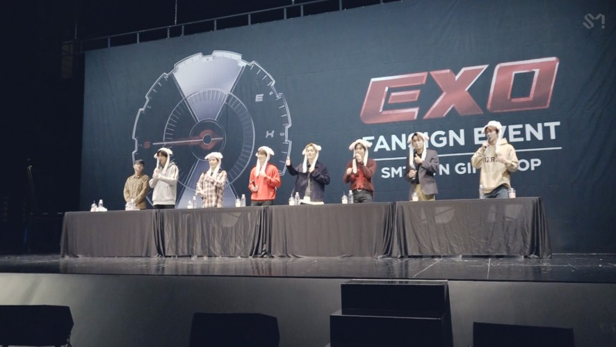 181110 EXO 'Tempo' FanSigning EVENT Sketch