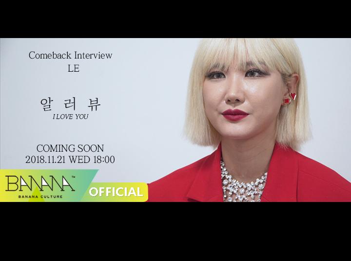 [EXID(이엑스아이디)] '알러뷰' 컴백 인터뷰 #4. LE ('I LOVE YOU' Comeback Interview #4. LE)