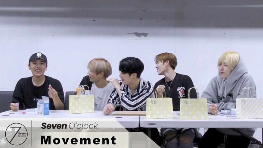 [세븐어클락(Seven O'Clock)] 리얼버라이어티_청춘일지_마니또 #4