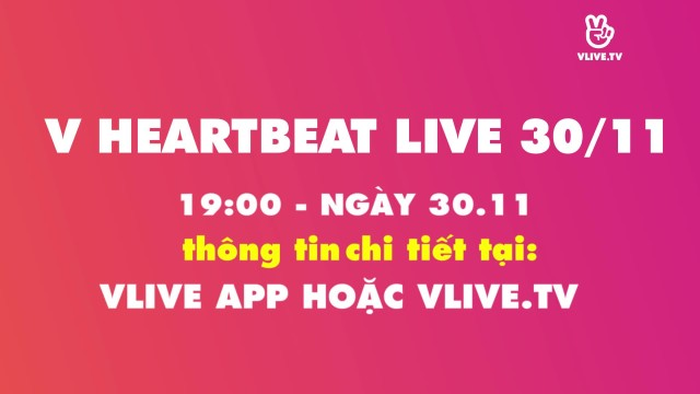 [TEASER] V HEARTBEAT LIVE NOVEMBER