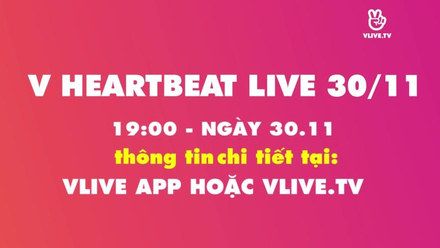 [TEASER] V HEARTBEAT LIVE NOVEMBER