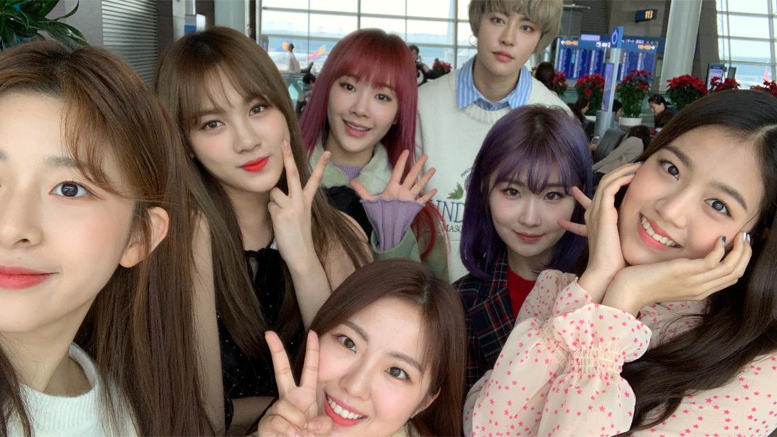 [gwsn] 공원소녀 일본 가다!!!