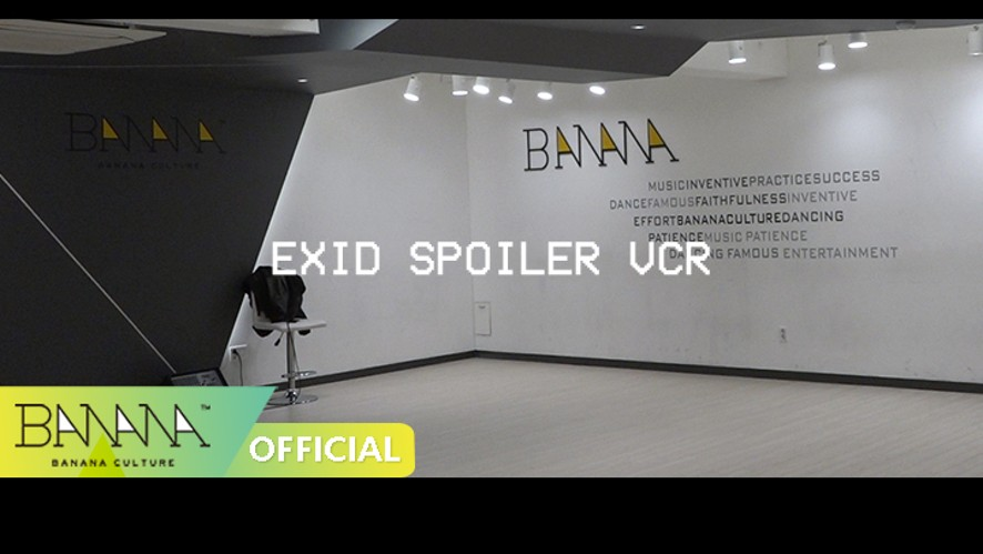 [EXID(이엑스아이디)] '알러뷰' 스포일러 VCR ('I LOVE YOU' Spoiler VCR_Practice ROOM)