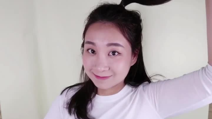 [1분팁]앞머리없는반묶음 머리 블랙핑크제니처럼~♥