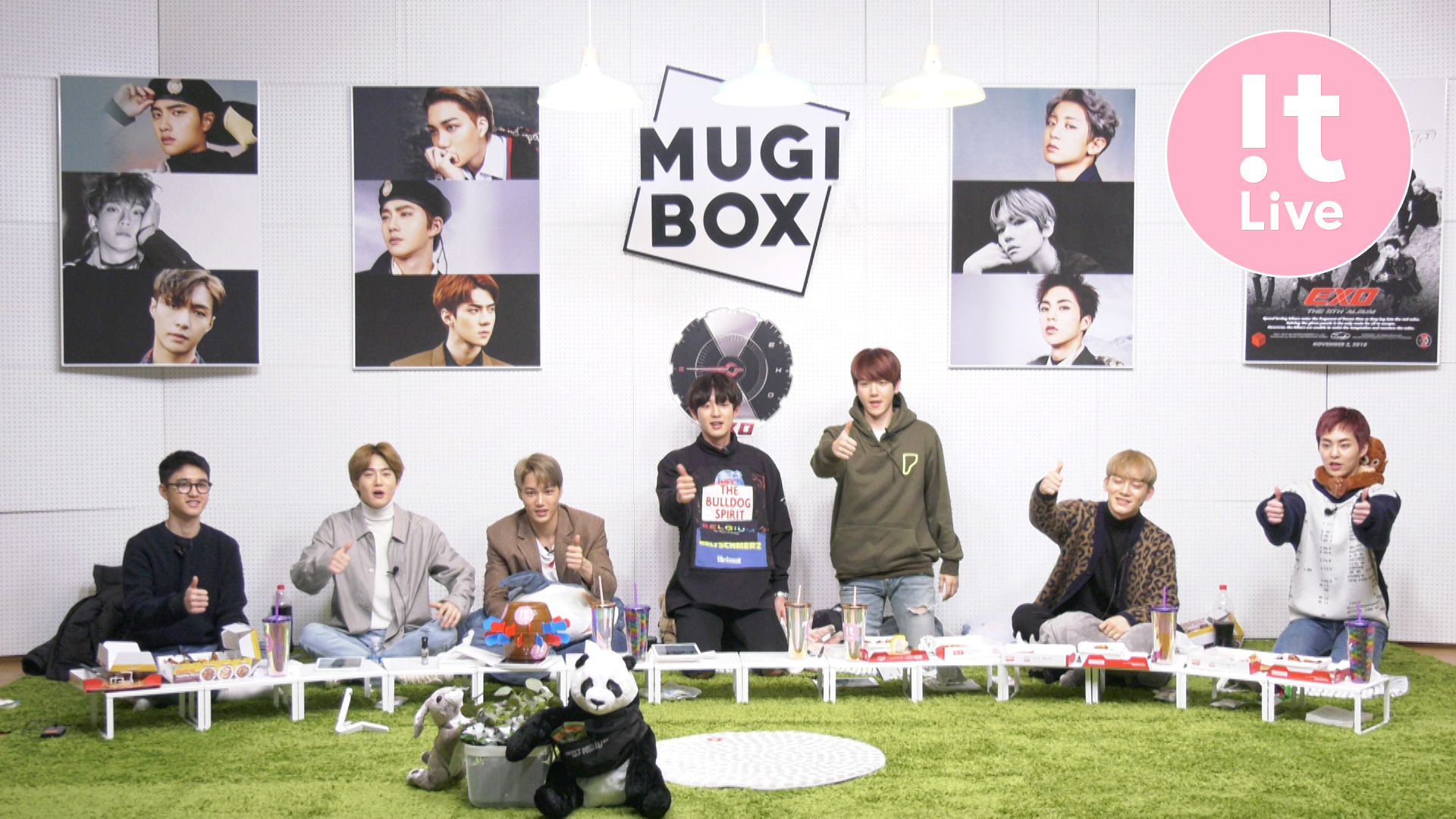 "[Full] !t Live(잇라이브): The 12th MUGI-BOX(뮤기박스) ""EXO"""