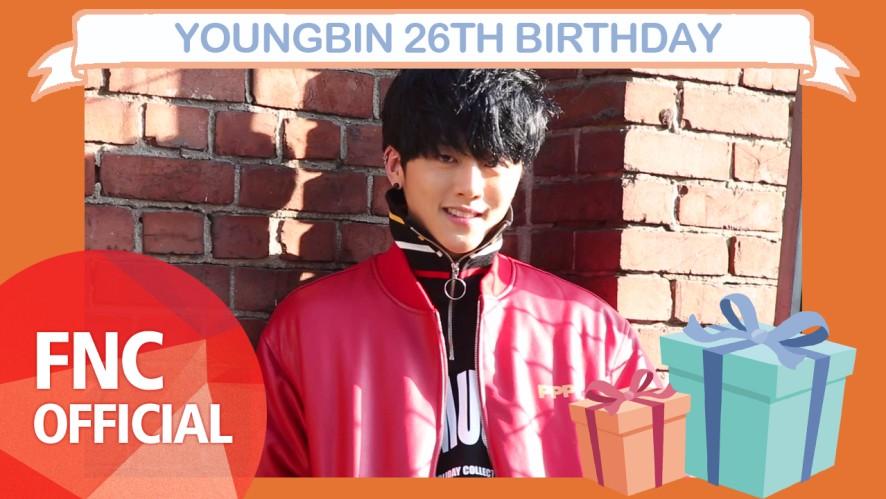 [HBD] YOUNGBIN 26TH BIRTHDAY