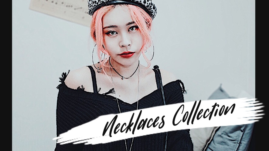 EUNBI✟ My Necklaces Collection 은비의 목걸이 소개라이브 !