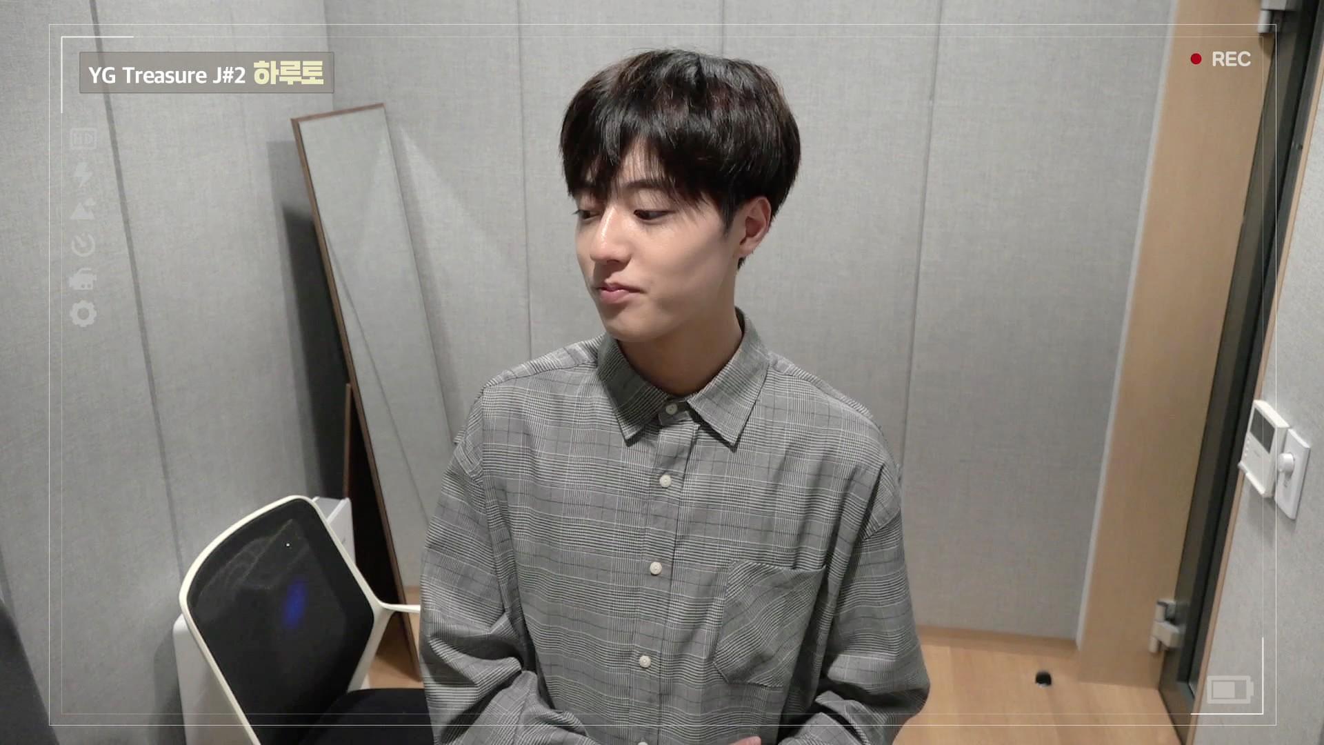 [DIARY CAM]  J#2 하루토 <HARUTO> ep.1 l YG보석함