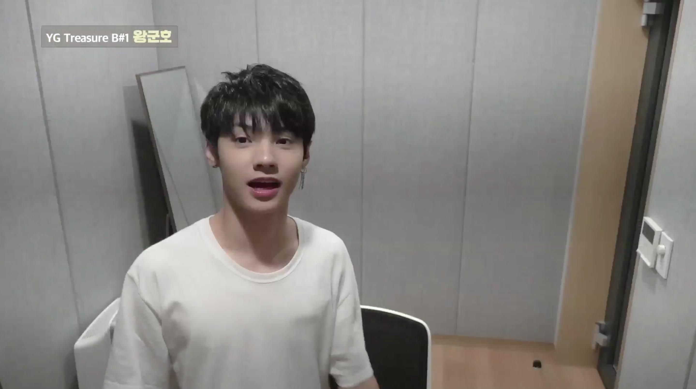 [DIARY CAM]  B#1 왕군호 <WANG JYUNHAO> ep.1 l YG보석함
