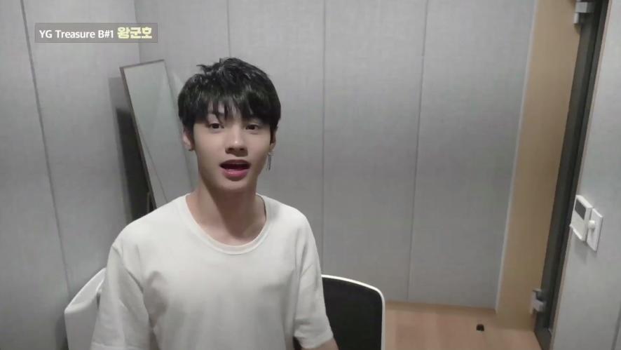 [DIARY CAM 1]  B#1 왕군호 <WANG JYUNHAO> l YG보석함