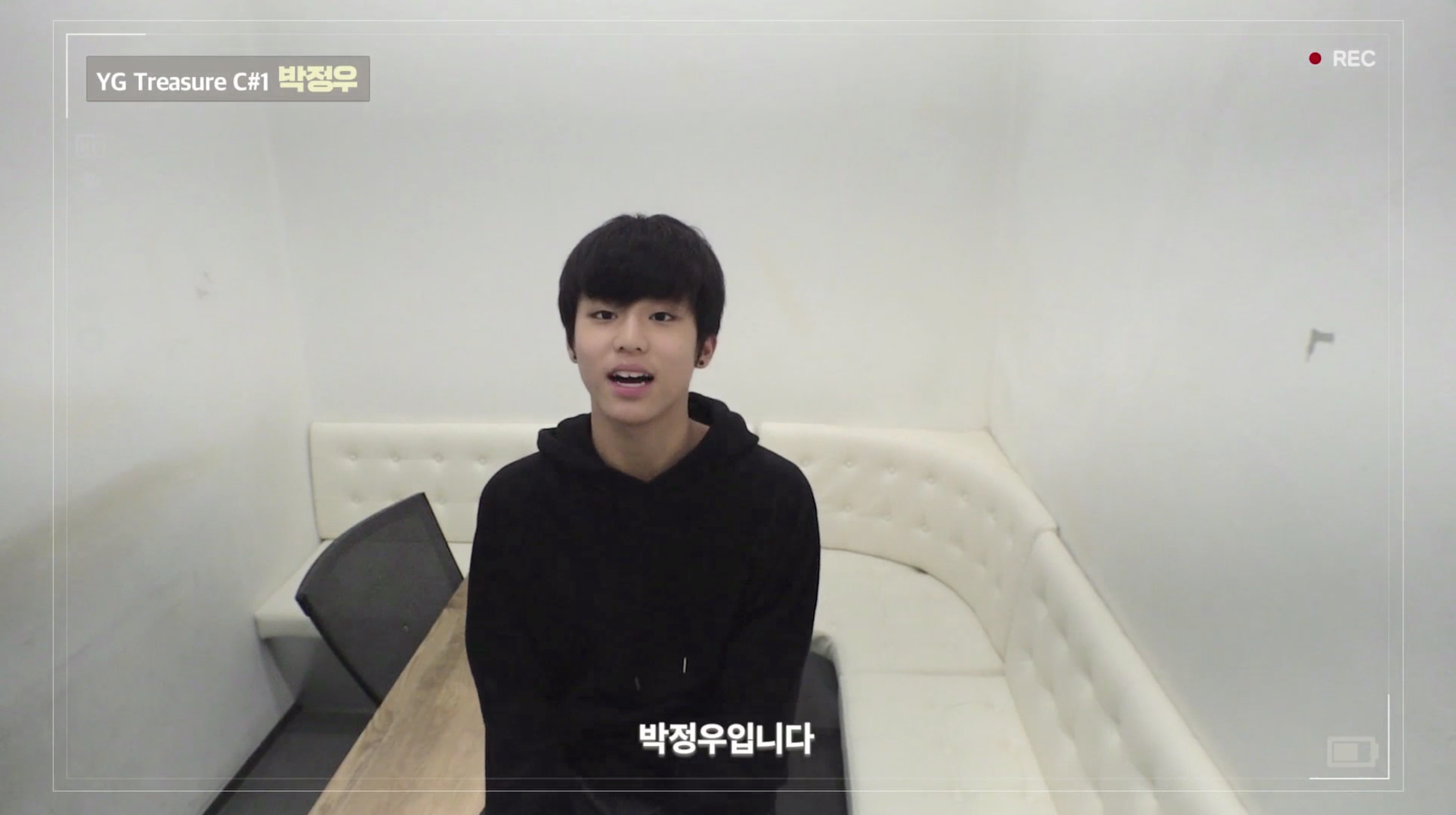[DIARY CAM]  C#1 박정우 <PARK JEONGWOO> ep.1 l YG보석함