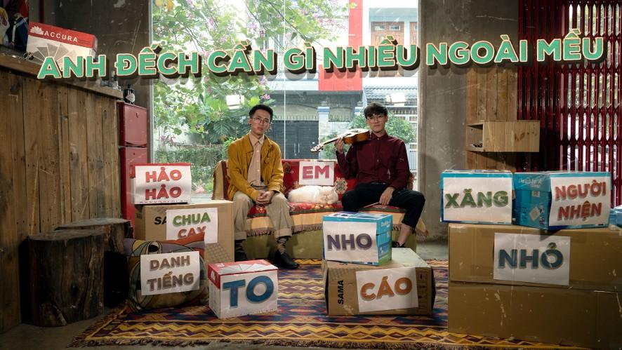 """""""PARODY ANH ĐẾCH CẦN GÌ NHIỀU NGOÀI EM - ĐEN"""" - CƯỜNG KIDO + LONG.C"""