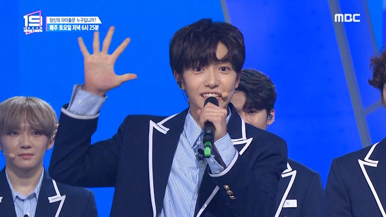 '당신의 아이돌은 누구입니까' 퍼포먼스 팀 김강민, 김시현, 김준서, 민, 박시영