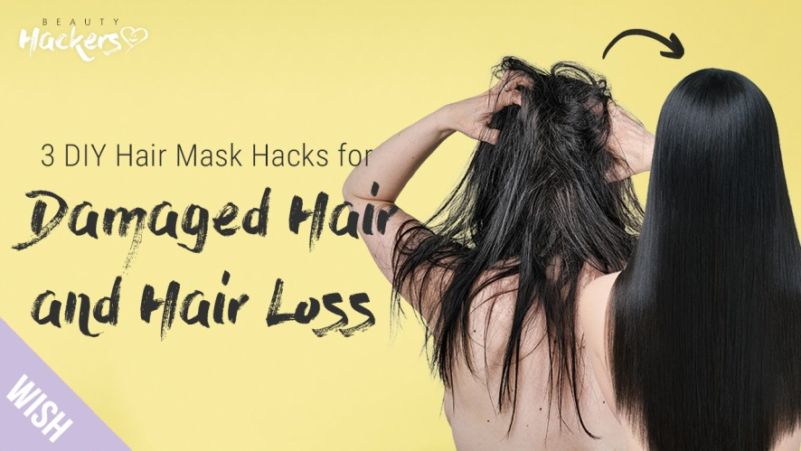 10 Minute Hacks to Make Tangled Hair Smooth and Healthy!   BeautyHACKers