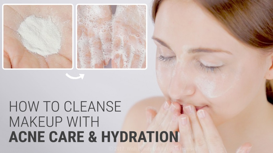 Best Cleanser for Acne Care & Hydration | By Wishtrend Green Tea & Enzyme Powder Wash