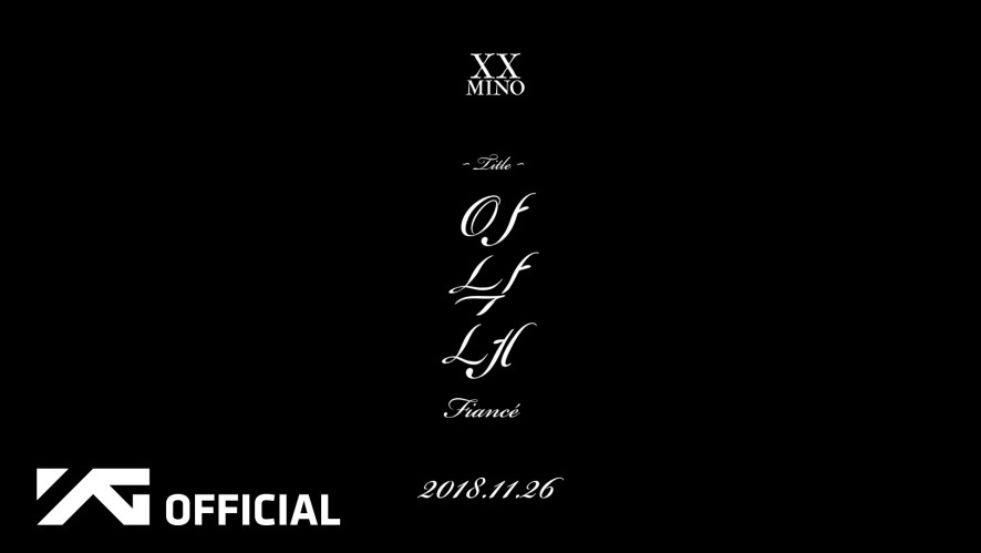 MINO(송민호) - 'FIRST SOLO ALBUM : XX' MOVING POSTER