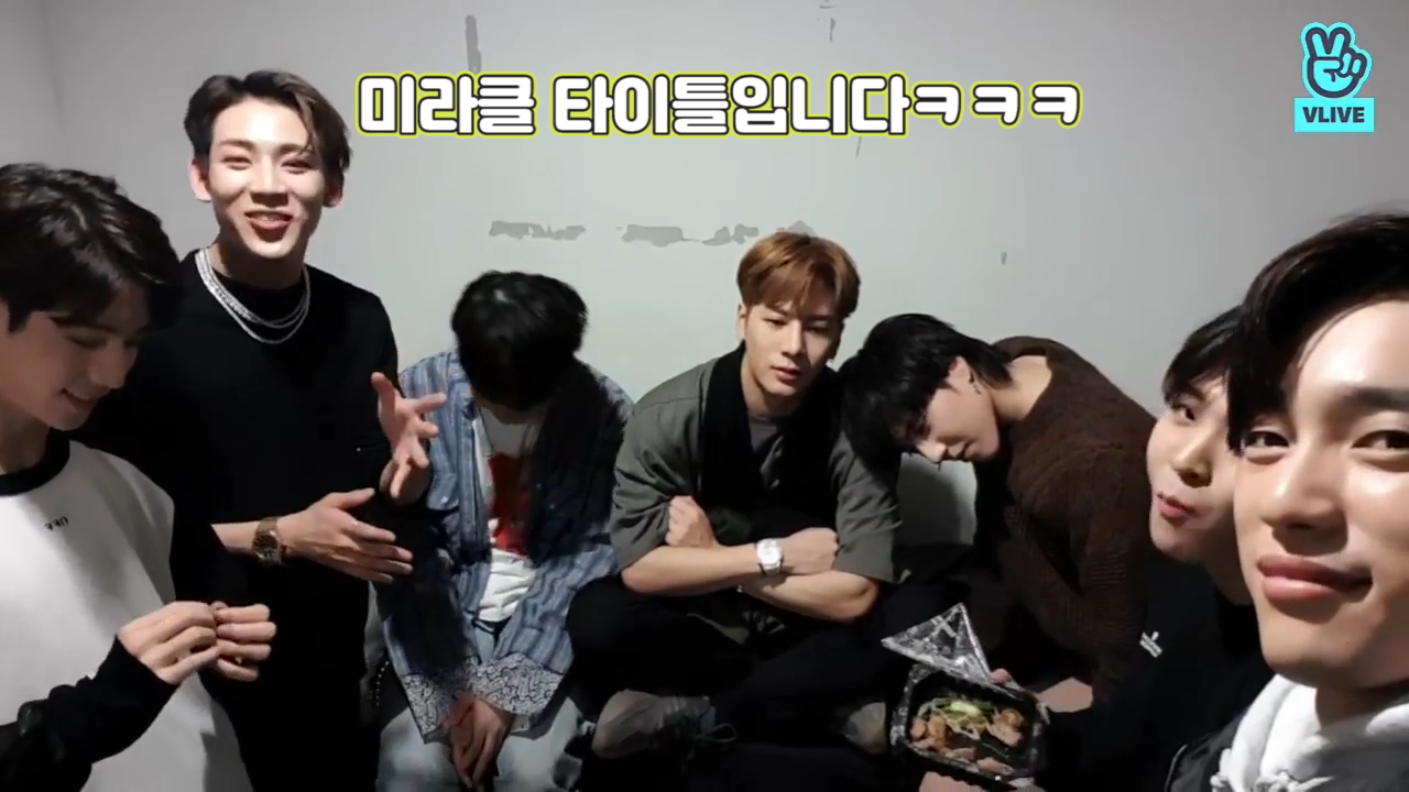 [GOT7] 우주슈스파퓰러갓세븐이 바로 MiRACLE이야🕯 (GOT7's thankful message to fans)