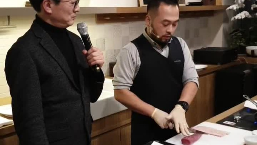 The Good Chef 이욱정PD&데이비드리 LIVE <돼지안심 베이컨말이>