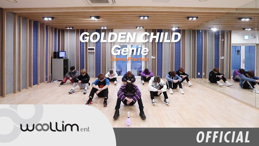 "골든차일드(Golden Child) ""Genie"" Dance Practice"
