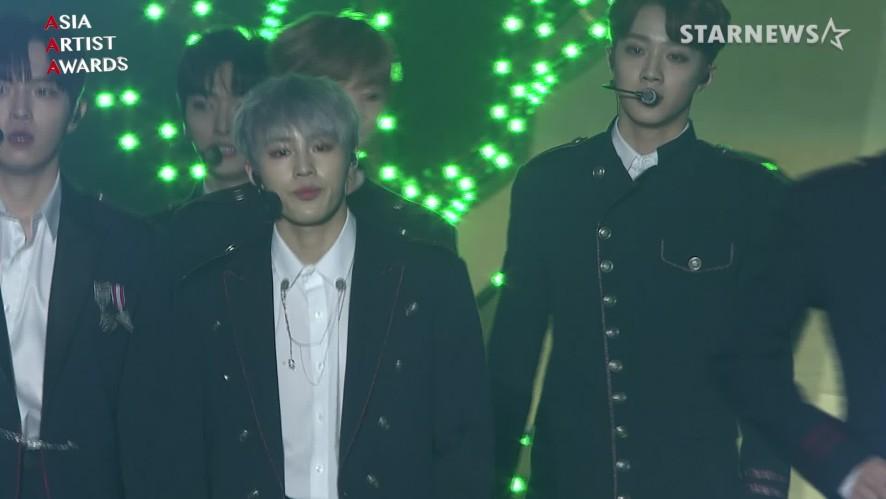 ★워너원(Wanna One) 미공개 수상소감 및 '켜줘' '부메랑 무대 2018 AAA (Light,BOOMERANG)★