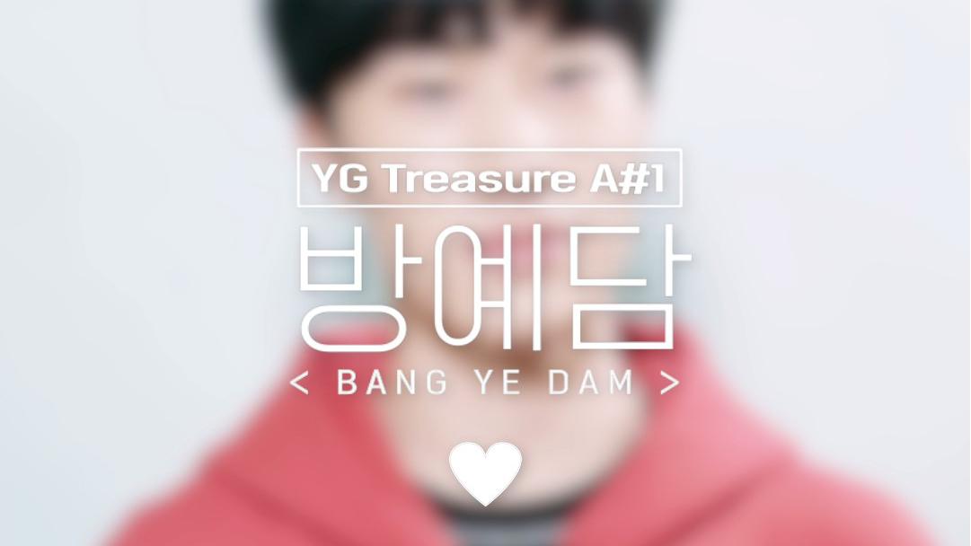 [GOOD NIGHT CAM] A#1 방예담 <BANG YEDAM> l YG보석함