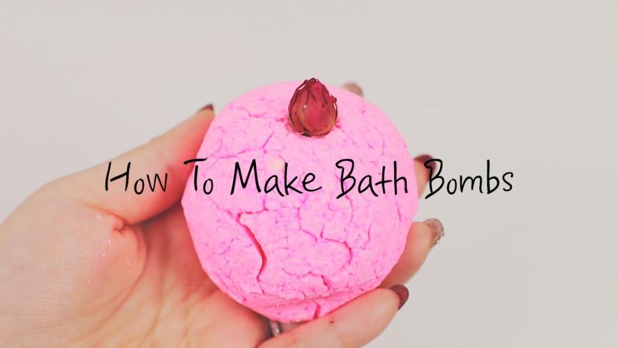 [1분팁] 입욕제만들기 How To Make Bath Bombs