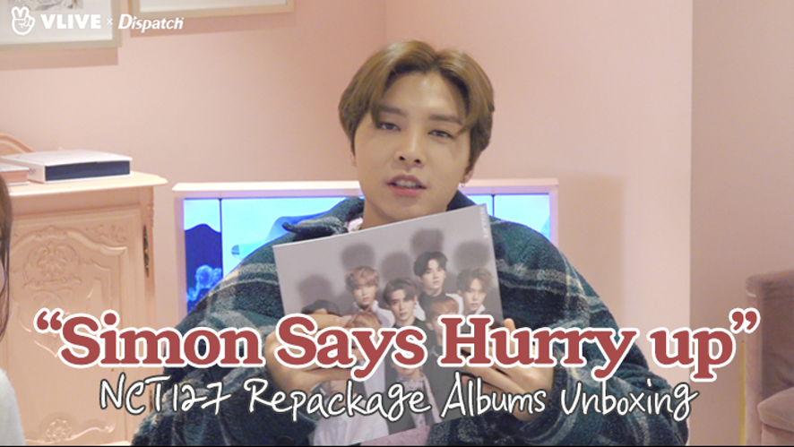"[ⓓ xV] ""Simon Says Hurry up"" Repackage Albums Unboxing (JOHNNY:NCT127)"