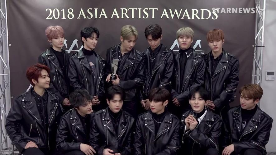 ★ 더보이즈 (THE BOYZ) 미공개 수상소감 및 'RIGHT HERE' 2018 AAA ★