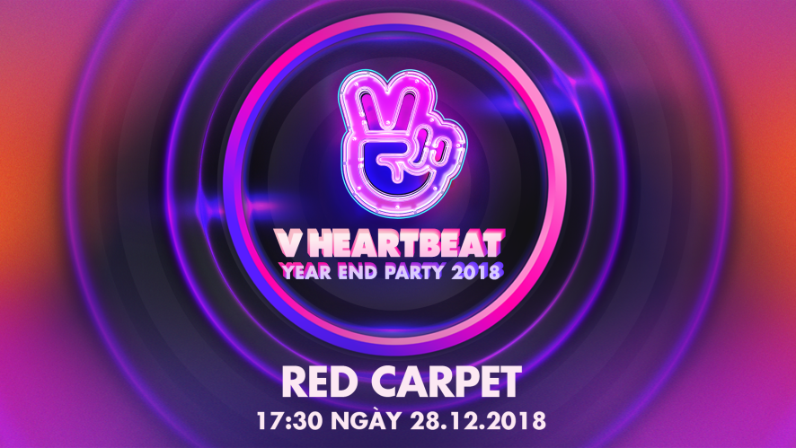 RED CARPET - V HEARTBEAT YEAR END PARTY 2018