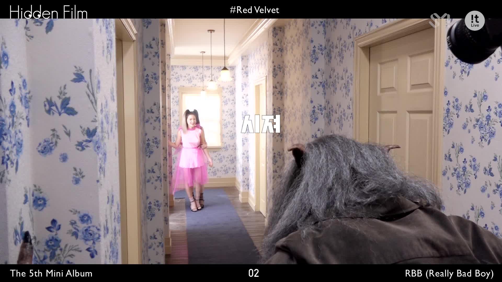 Hidden Film 히든필름_Red Velvet 레드벨벳 'RBB (Really Bad Boy)'