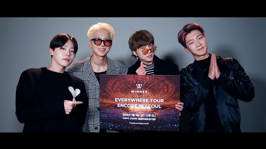 WINNER - 'EVERYWHERE TOUR ENCORE IN SEOUL' SPOT #2