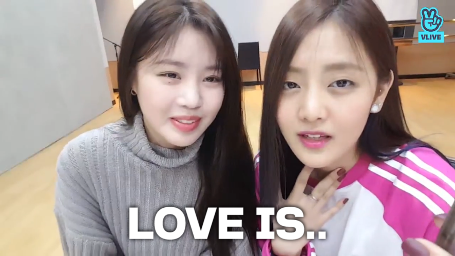 [(G)I-DLE] LOVE IS 낌앤체리, THAT IS LOVE💜 (Minnie&Soojin playing telepathy game)