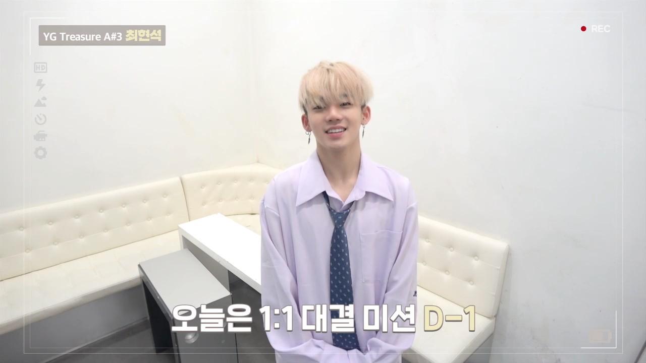 [DIARY CAM 2]  A#3 최현석 <CHOI HYUNSUK> l YG보석함