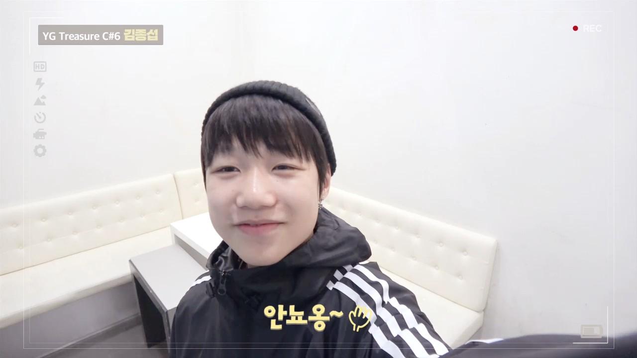 [DIARY CAM 2]  C#6 김종섭 <KIM JONGSEOB> l YG보석함