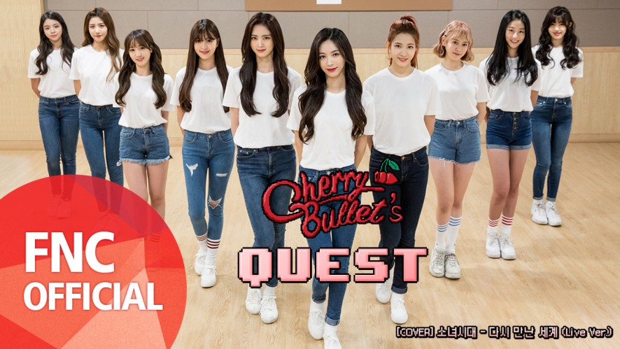 Cherry Bullet - [COVER] 소녀시대 '다시 만난 세계' PRACTICE VIDEO (Live Ver.)