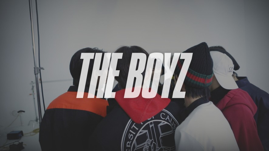 THE BOYZ (더보이즈) MINI ALBUM [THE ONLY] Jacket Making (In The Air ver.)