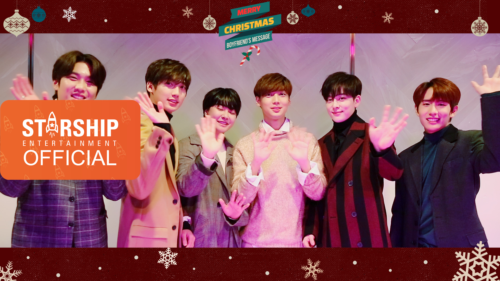 [Special Clip] 보이프렌드(BOYFRIEND) - 2018 Christmas Message