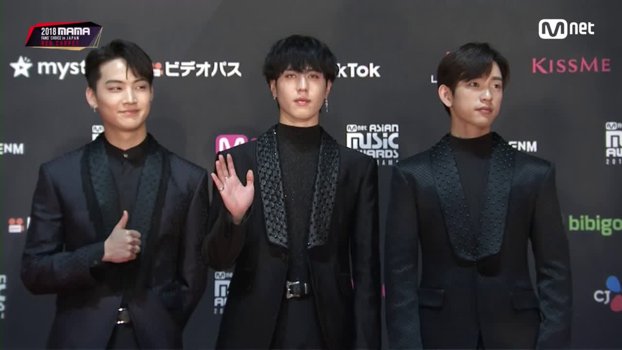 Red Carpet with GOT7 JB, Yugyeom(유겸), Jinyoung(진영)│2018 MAMA FANS' CHOICE in JAPAN