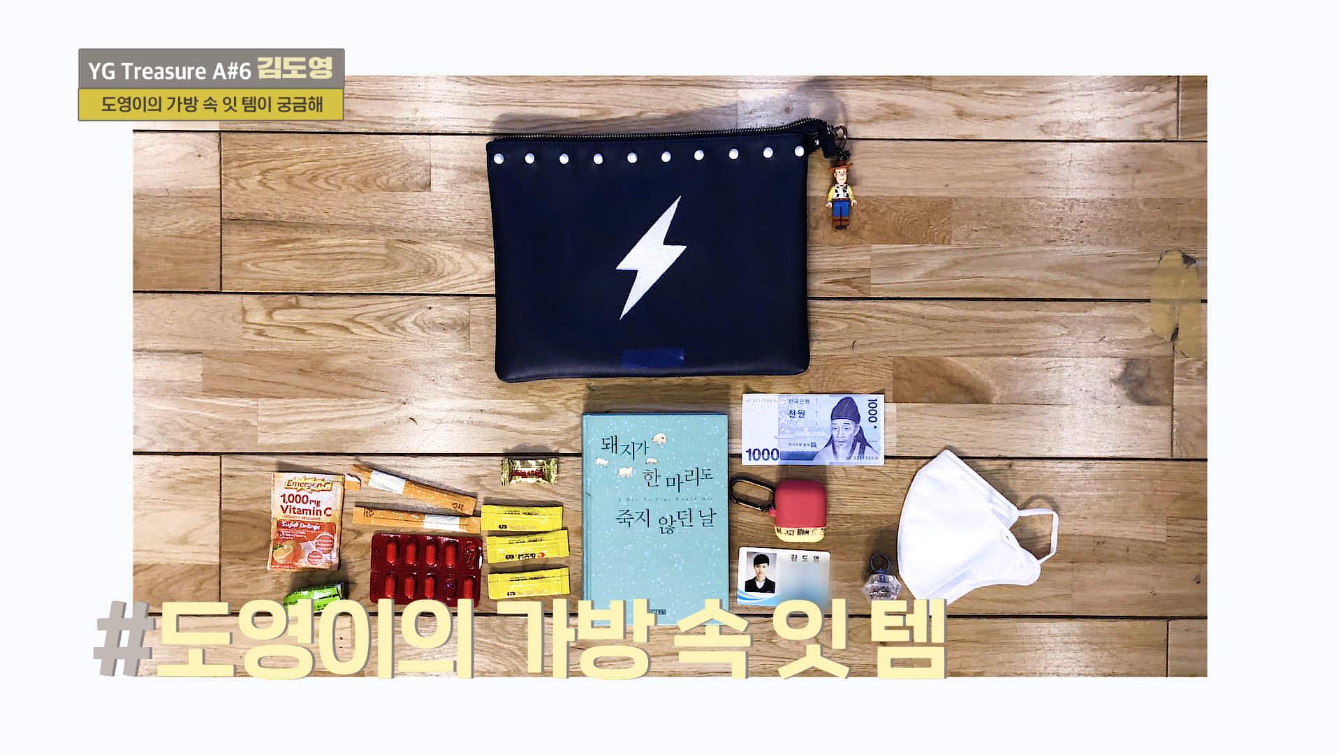 [IN MY BAG] 김도영 <KIM DOYOUNG> l YG보석함