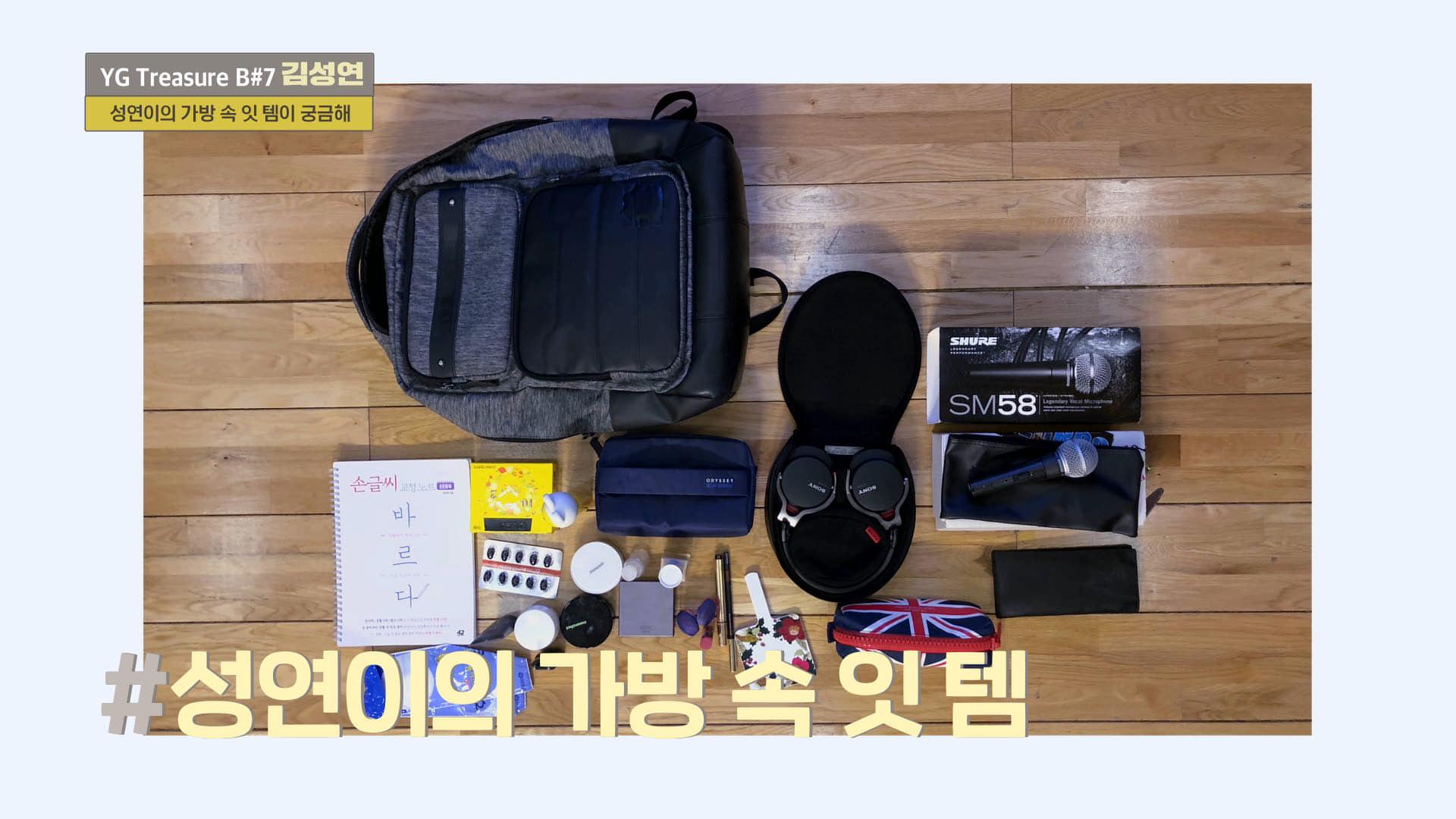 [IN MY BAG] 김성연 <KIM SUNGYEON> l YG보석함