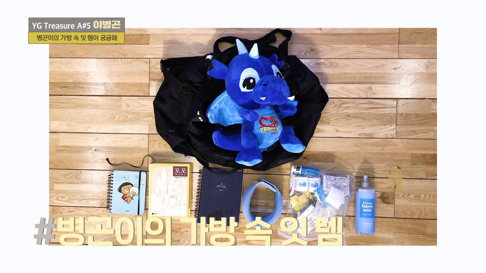 [IN MY BAG] 이병곤 <LEE BYOUNGGON> l YG보석함