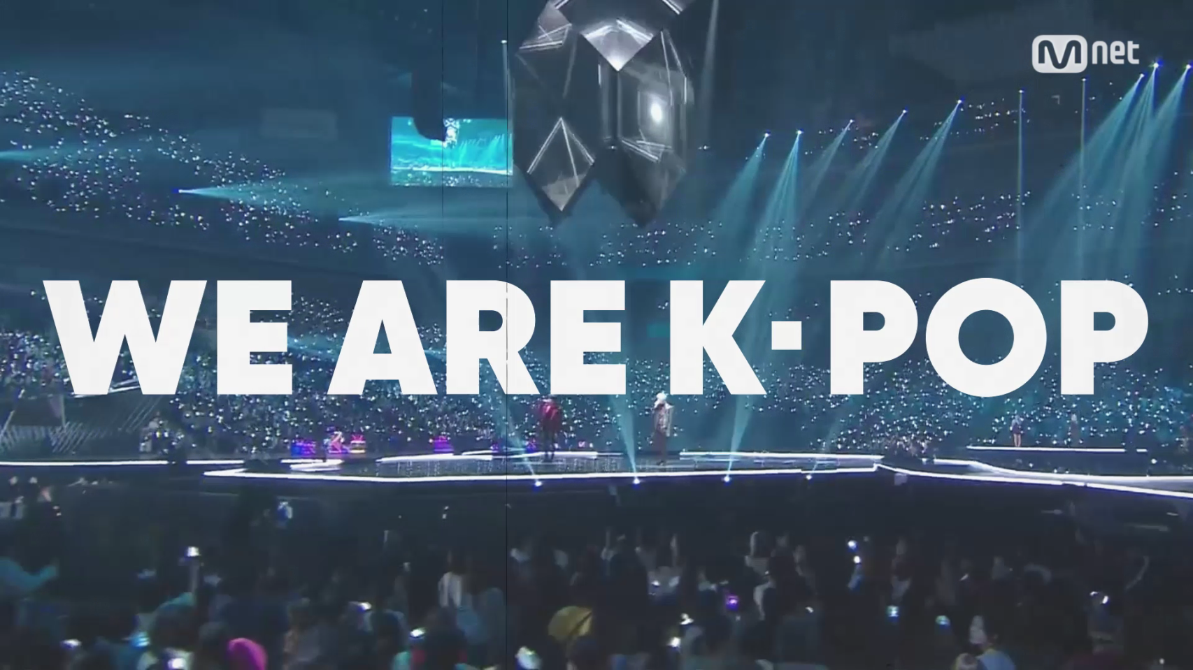 """Mnet l """"WE ARE K-POP"""" Campaign"""