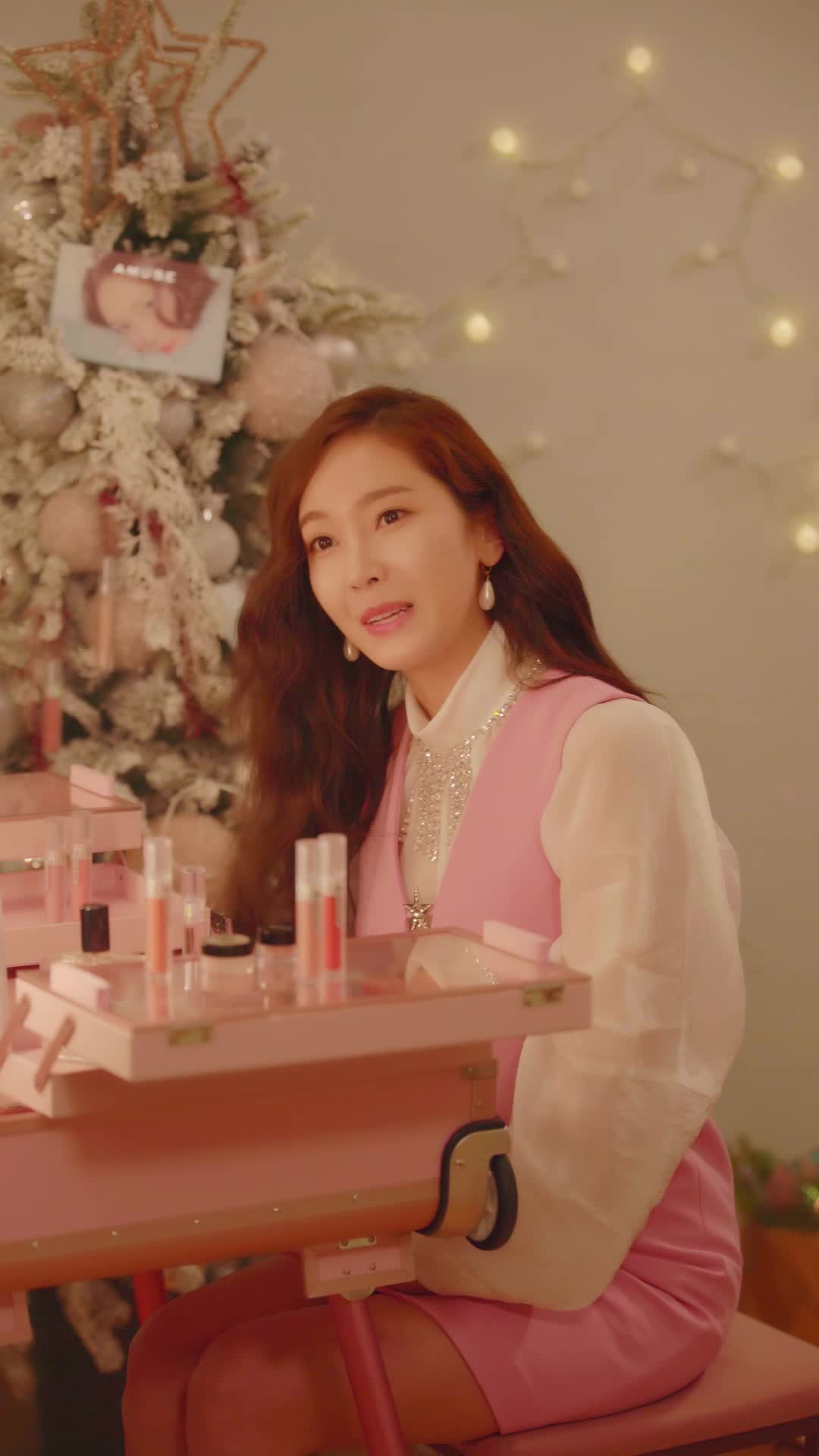 JESSICA X AMUSE One More Christmas 셀프메이컵 & 신곡 공개 예고