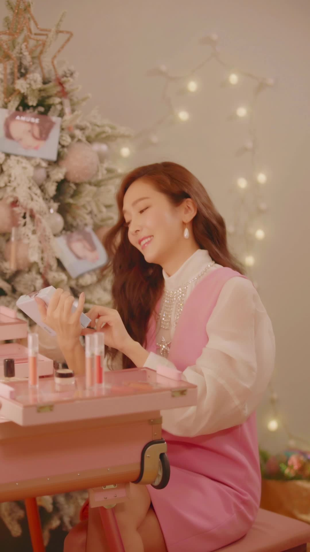 JESSICA X AMUSE One More Christmas 셀프메이컵 & 신곡 공개