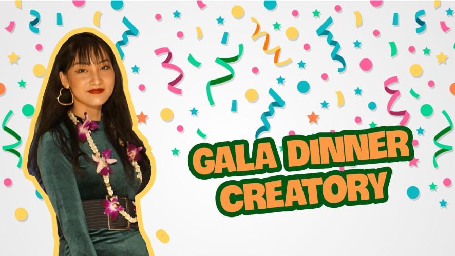 Gala dinner Creatory ❤️❤️❤️