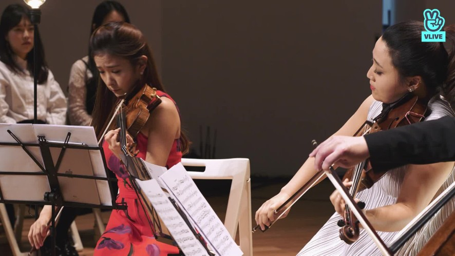 [연주클립]V살롱 갈라 Vn.장유진, Va 이한나, Vc. 심준호, piano 김정원 R.Schumann: Piano Quartet, Op.47 III & IV