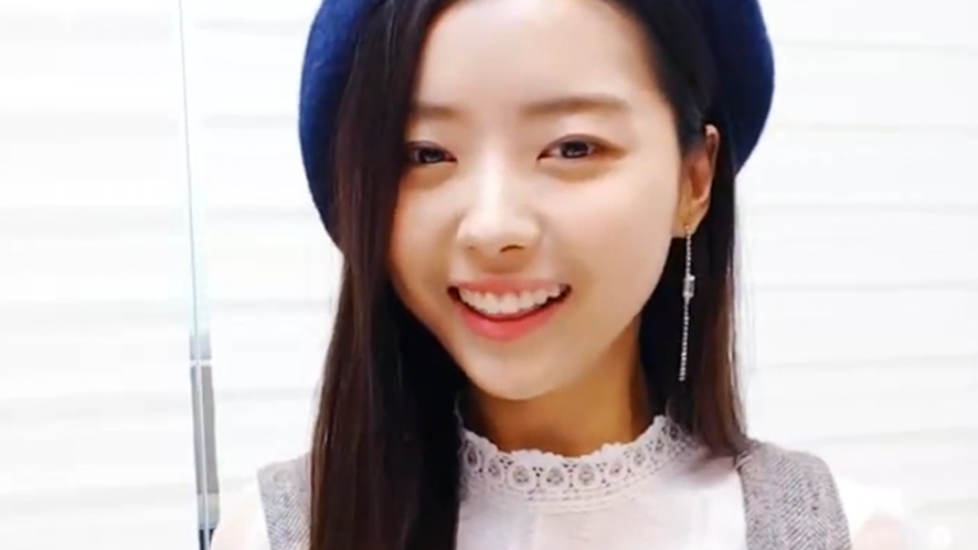 [PRISTIN] 겨울에 태어난 아름다운 나롱 해삐벌쓰데이(Happy Nayoung Day+1)